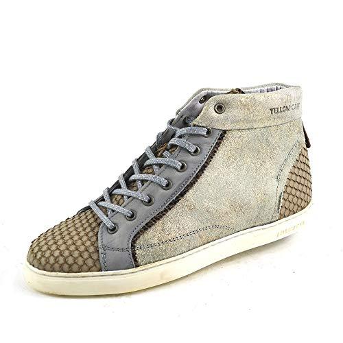 Yellow Cab Damen Sneaker Y25142 Mild W Hi Top Schuhe Off White Weiß Schuhgröße EUR 40