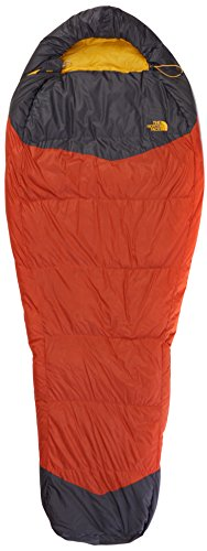 The North Face Gold Kazoo Saco de Dormir, Unisex, Naranja/Gris, Regular