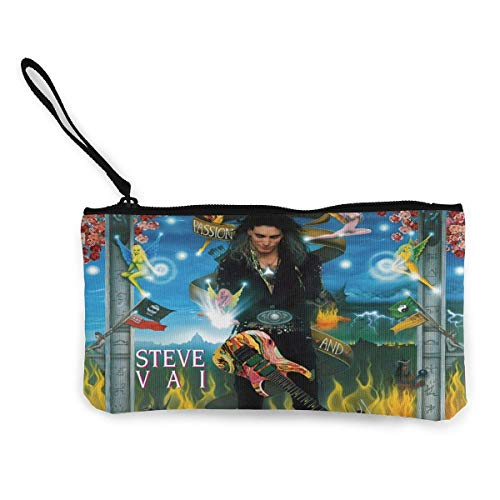 Steve Vai Passion and Warfare Lipstick, Coins, Cash, Credit Card, Headset, Keys, Fashion Purse, Makeup Bag, Multi-Function Storage Bag