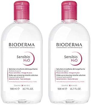 2-Pack Bioderma Sensibio H2O Micellar Water 0.72 Fl Oz