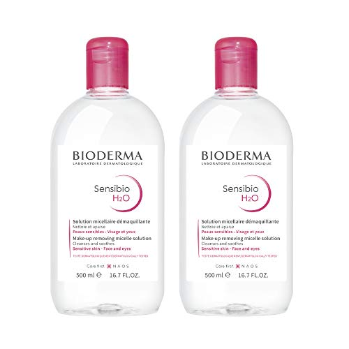 Bioderma – Sensibio H2O – Micellar Water – Cleansing and Make-Up Removing – Refreshing Feeling – for Sensitive Skin