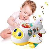ACTRINIC Baby Spielzeug 12-18 Monate elektronisches Flugzeug Spielzeug mit Licht und Musik Best pdagogisches Spielzeug fr Kinder fr Kleinkinder Jungen und Mdchen 1 2 3 4 Jahre alt