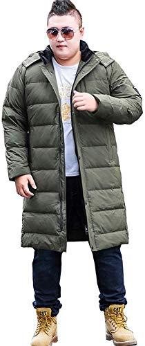 WANGXIAO heren donsjack, winter gewatteerde jas halflang capuchon afneembare capuchon winddicht comfortabel dankzij Giving Day.