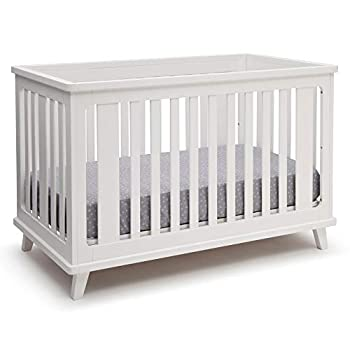 Delta Children Ava 3-in-1 Convertible Baby Crib White