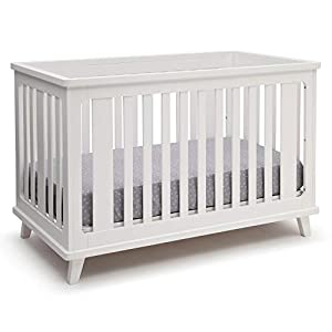 Delta Children Ava 3-in-1 Convertible Baby Crib, White