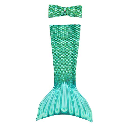 Mermaid Tail Outfit for American Girl Size Fashion Dolls (18' Outfit only, Doll Not Included) - Brynn's Celtic Green