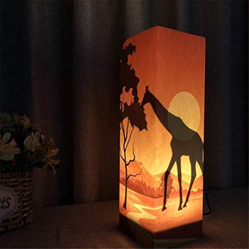 MTX Ltd Creative Guitare Batterie 3D Veilleuses Plug-in Chambre Chambre Lampes pour Enfants Cadeaux de Vacances Cadeaux d'anniversaire