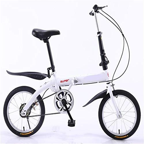 Vouwfiets-Lichtgewicht Aluminium Frame Voor De Kinderen Mannen En Vrouwen Vouw Bike16-Inch