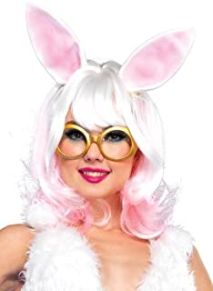 Women's Bunny Two-tone Wig With Latex Ears