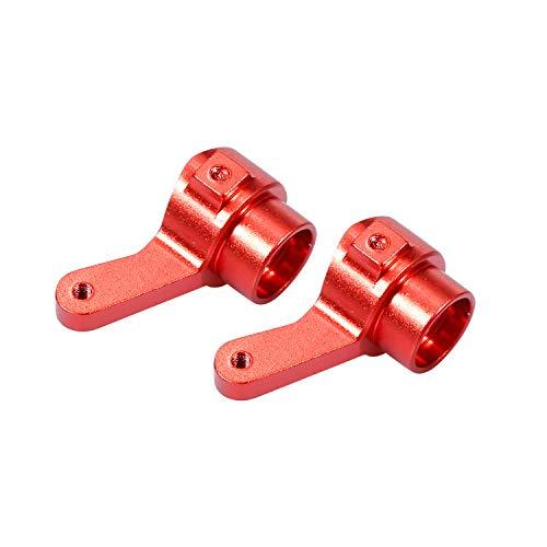 Goolsky- Reemplazo para D90 MN-90 MN-99 MN-91 FJ-45 JJRC WPL RC Coche Copa de Dirección de Metal Soporte del Eje de Dirección Soporte de Aleación de Aluminio Piezas de Actualización