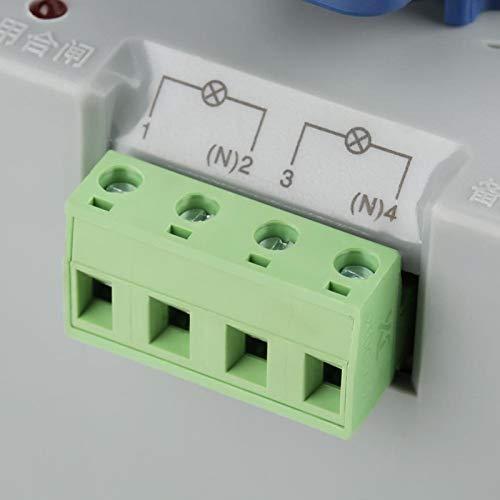 Interruptor de Transferencia Interruptor de Cambio 2P Interruptor de Transferencia automática de Doble Potencia Interruptor de Transferencia automática de energía Eléctrico para Edificios