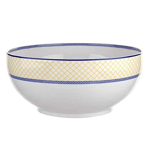 Portmeirion Giallo Saladier en porcelaine