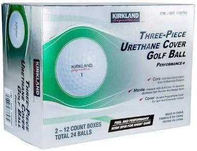 Kirkland Signature 3-Piece Urethane Cover Golf Ball 4 Dozen, 48 Count