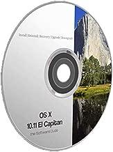 El Capitan Mac OS x 10.11 Boot DVD Install Reinstall Recovery Upgrade Downgrade Disk