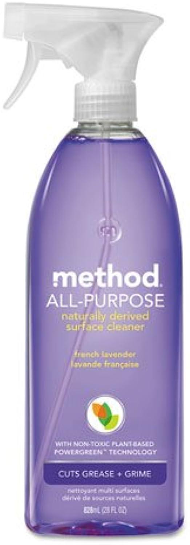 Method 00005 All-Purpose Cleaner, French Lavender, 28 oz Bottle