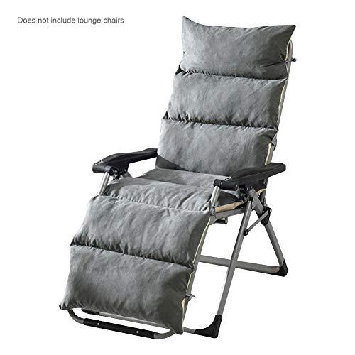 Welltobuy Schaukelstuhlkissen Abnehmbare, gewebte Klappstuhlauflage Einteiliges Kissen Universalmatte