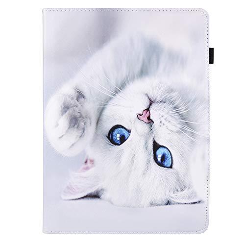 XTstore Custodia Universale Tablet 7-8 Pollici, Girevole 360 Gradi di Rotazione Custodia Protettiva per Samsung Tab A6 7.0/A 8', Huawei MediaPad T3 7/M3 Lite 8', Yuntab H8, Lenovo Tab M7/E8, Gatto