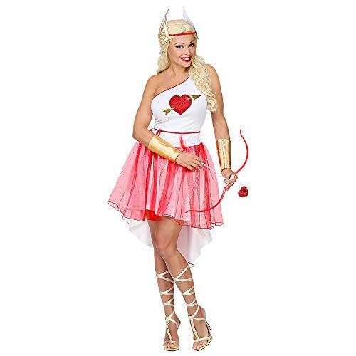WIDMANN Srl disfraz Cupido ngel de mujer Adultos, Multicolor, wdm70643