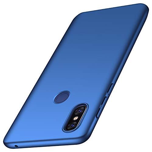 anccer Funda Xiaomi Mi Mix 3 [Serie Colorida] [Ultra-Delgado] [Ligera] Anti-rasguños Estuche para Carcasa Mi Mix 3 (Azul Liso)