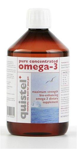 Quistel Puro Concentrado Omega-3 Suplemento Dietético para todas Mascotas (500ml)