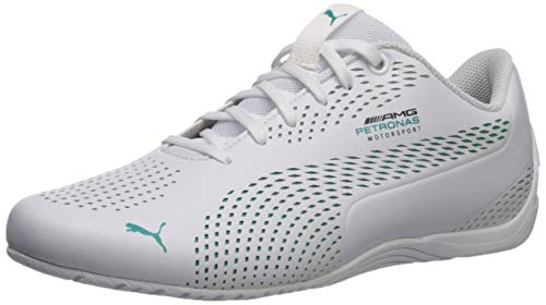 Price comparison product image PUMA Mercedes Drift CAT 5 Ultra Sneaker White-Spectra Green,  11 M US