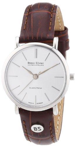 Bruno Söhnle Damen-Armbanduhr XS Nabucco Analog Quarz Leder 17-13045-241