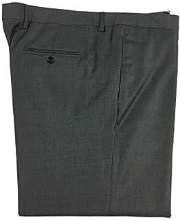 Mauro Grifoni Pantalone Uomo Grigio Medio Fondo cm 21 Vita cm 104 Made in Italy (42 - IT 56)