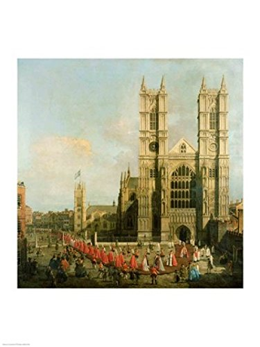 Procession of the Knights of the Bath Poster Print by Giovanni Antonio Canaletto (18 x 24)