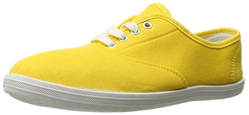 Shoes 18 Womens Canvas Shoes Lace up Sneakers 18 Colors 324 Yellow 10