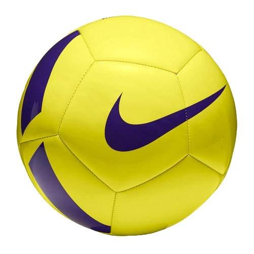 Nike Nk Ptch Team, Pallone Unisex-Adulto, Giallo (Yellow / Violet), Taglia 3