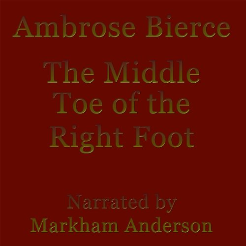 The Middle Toe of the Right Foot audiobook cover art