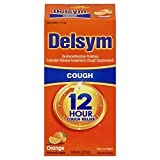 Delsym Adult 12 Hr Cough Relief Liquid, Orange, 5oz