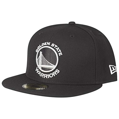 New Era 59Fifty Gorra ajustada, NBA Golden State Warriors negro - 7 5/8