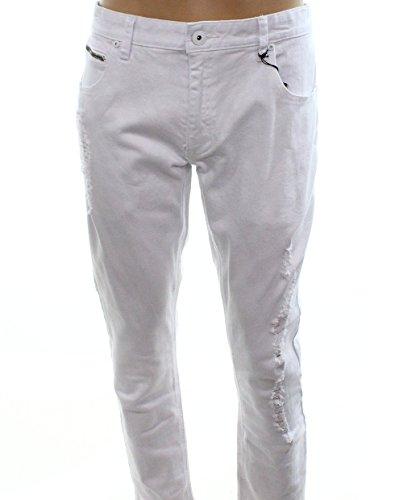 INC International Concepts Women's Skinny Stockholm Jeans (32W32L, White)