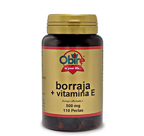 Borraja 500 mg. 110 perlas con vitamina E
