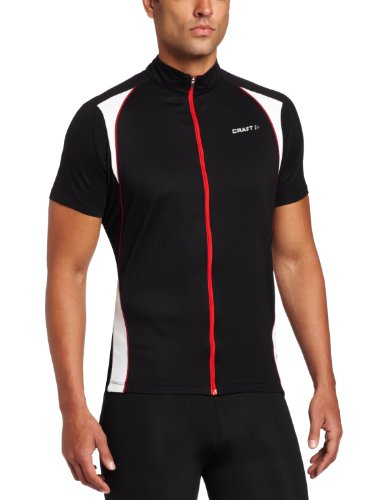 Craft Herren Trikot Active Bike Jersey, Black, M, 1901287-9900