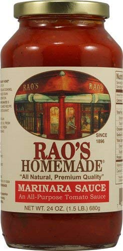Rao's Homemade All Natural Marinara Sauce, 24 Ounce (Pack of 2)