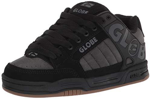 Globe mens Skate Shoe, Black/Iron, 10.5 US