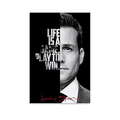 GUOTING Poster aus der TV-Serie Harvey Specter Zitate auf Leinwand, modernes Büro, Familie, Schlafzimmer, dekorative Poster, Geschenk, Wanddekoration, Gemälde, Poster