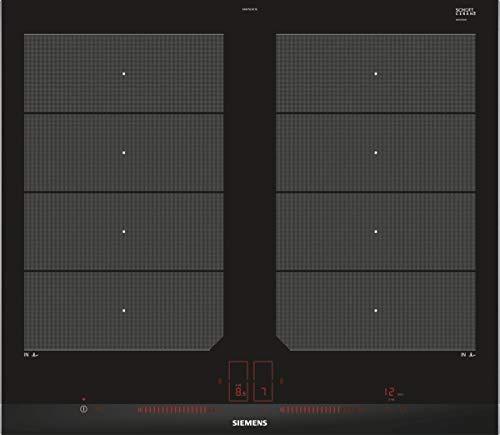 Siemens EX675LXC1E iQ700 Kochfeld Elektro / Ceran/Glaskeramik / 60,2 cm / Flexible Kochzonen - 2 varioInduktions-Kochzonen