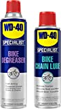 WD-40 Bike Maintenance Bundle, Bike Degreaser and Bike Lubricant, Clean and Lube