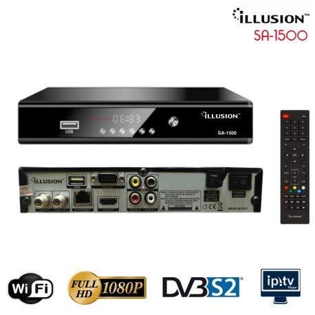 Receptor satélite ILLUSION SA-1500HD