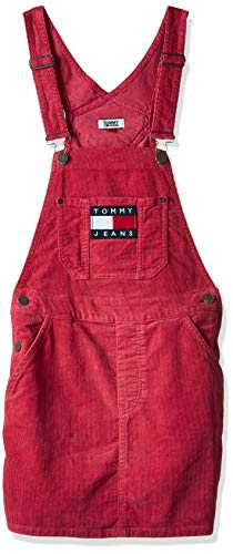 Tommy Hilfiger Salopette Donna TJW Dungaree Dress DW0DW07278.XAV (XS - XAV Claret RED)