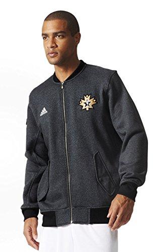 Adidas NBA All-star 2016 Warm up Full-zip Jacke Herren Ac2560, Grau - 2XL