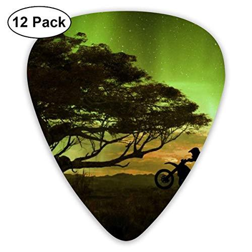 Angry Black Panther Wallpaper Guitar Picks Plectrums Guitarras acústicas Ukulele Picks, paquete de 12