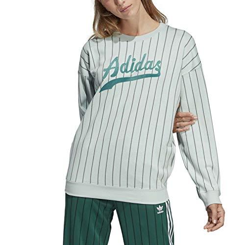 adidas Sweater Felpa da Donna, Donna, DU9921, vervap, 38