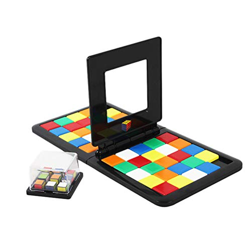 FuYouTa Magic Block Game Battle Cube Race Rubikes Race Juego de Mesa de Rompecabezas Colorido para niños Juego de Mesa Interactivo de Rompecabezas para Padres e Hijos Juguetes para niños Regalos