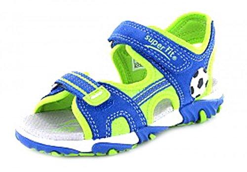 Superfit Kinder Schuhe Buben Sandale seitl. Steg 2-00174-85 blau 438262