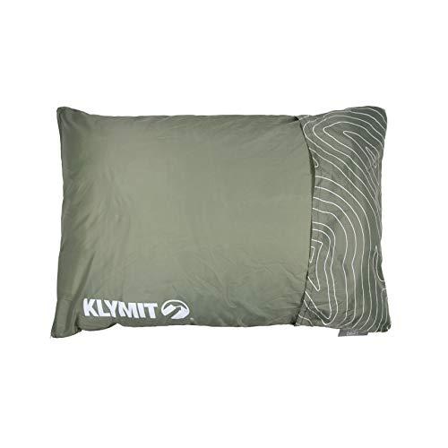 KLYMIT(クライミット) 枕 ドリフトカーキャンプピロー ラージ グリーン Drift Car Camp Pillow/L GN 保証 (日本正規品)