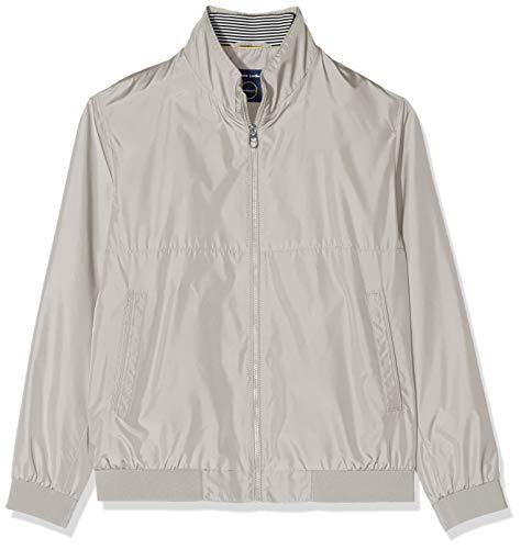 Pierre Cardin Herren Blouson Techno Solid Airtouch Jacke, Braun (Clay 7900), Medium (Herstellergröße: 48)